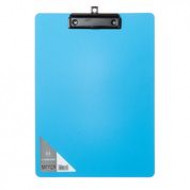 Meeco A4 PP Clipboard Blue