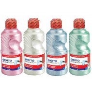 Giotto RTU Pearl Paint 500ml Cyan