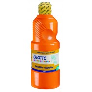 Giotto School Paint 500ml Orange