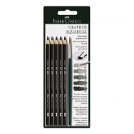 Faber-Castell Graphite Aquarelle Pencil 5's