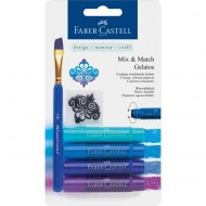 Faber-Castell Gelatos Shades of Blue