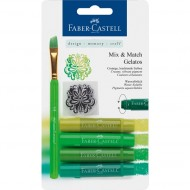 Faber-Castell Gelatos Shades of Green