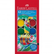 Faber-Castell Watercolour Paints 12's