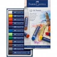 Faber-Castell Creative Studio Oil Pastels 12's