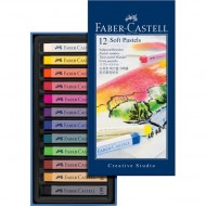 Faber-Castell Creative Studio Soft Pastels 12's