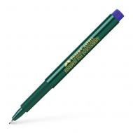 Faber-Castell 0.4mm Finepen Pen Blue