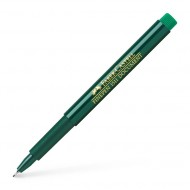 Faber-Castell 0.4mm Finepen Pen Green