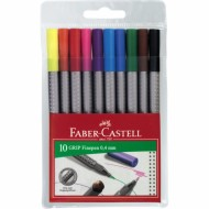 Faber-Castell Grip Fineliners 10's