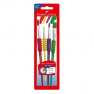 Faber-Castell Soft Touch Paint Brush Set