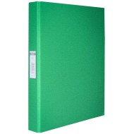 Bantex A4 25mm O-Ring PP Ringbinder Green