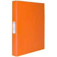 Bantex A4 25mm O-Ring PP Ringbinder Orange