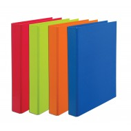 Bantex A4 25mm D-Ring Paper Casemade Ringbinder Orange