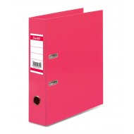 Bantex A4 70mm Paper Casemade Lever Arch File Pink