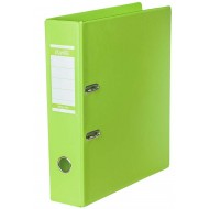 Bantex A4 70mm PVC Lever Arch File Lime Green