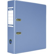 Bantex A4 70mm PVC Lever Arch File Metallic Blue