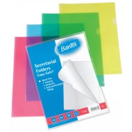 Bantex A4 PP Secretarial Folder 5's Red