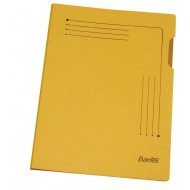 Bantex A4 Insert Folder 25's Yellow