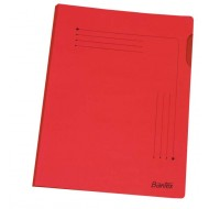 Bantex A4 Insert Folder 25's Red