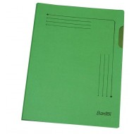 Bantex A4 Insert Folder 25's Grass Green