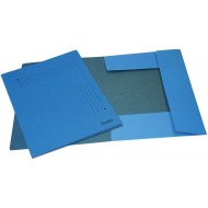 Bantex A4 Smart Folder 10's Cobalt Blue