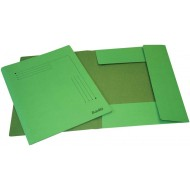 Bantex A4 Smart Folder 10's Grass Green