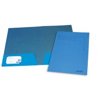 Bantex A4 Presentation Folder 10's Cobalt Blue