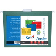 Bantex A4 Suspension Files 10's Green