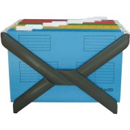 Bantex Suspension File Rack Black