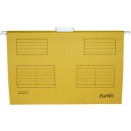 Bantex Foolscap Suspension Files 25's Yellow