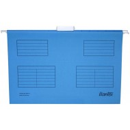 Bantex Foolscap Suspension Files 25's Cobalt Blue
