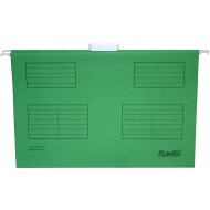 Bantex Foolscap Suspension Files 25's Grass Green