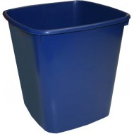 Bantex 20L Office Bin Blue