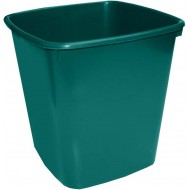 Bantex 20L Office Bin Green