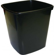 Bantex 20L Office Bin Black