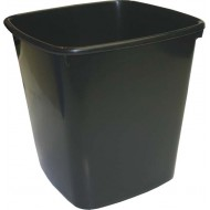 Bantex 20L Office Bin Anthracite Grey