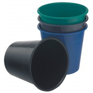 Bantex 10L Office Bin Black