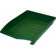 Bantex Optima Letter Tray Green