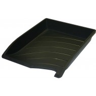 Bantex Optima Letter Tray Black