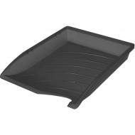 Bantex Optima Letter Tray Anthracite Grey