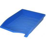 Bantex Optima Letter Tray Cobalt Blue