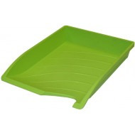 Bantex Optima Letter Tray Lime Green