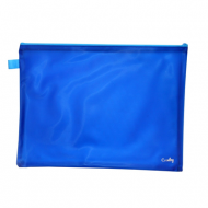 Croxley Create PVC Neon Book Bag Blue