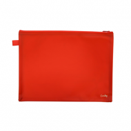 Croxley Create PVC Neon Book Bag Red