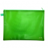 Croxley Create PVC Neon Book Bag Green