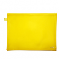 Croxley Create PVC Neon Book Bag Yellow