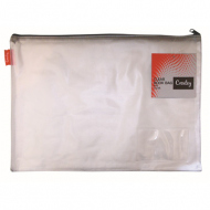 Croxley Create PVC Book Bag Clear