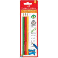 Faber-Castell Junior Pencil 2B 3's