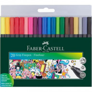 Faber-Castell Grip Finepen Fineliner 20's