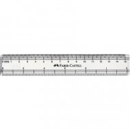 Faber-Castell 15cm Clear Ruler