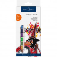 Faber-Castell Acrylic Paints 12's